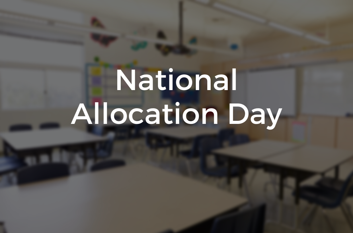 Welcome to Gagle Brook! National Allocation Day 2020