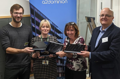 Local Community Donates 25 Shimmy Tablets to Gagle Brook School